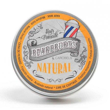 Beardburys Natural, pomada do włosów, 30ml