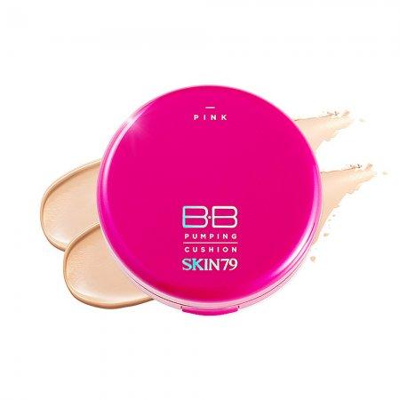 Skin79 Pink BB Pumping Cushion, krem BB w poduszce, 15g