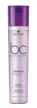 Schwarzkopf BC Smooth Perfect, keratynowy, micelarny szampon wygładzający, 250ml