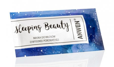 Anwen, maska do włosów o wysokiej porowatości, Sleeping Beauty, 10ml