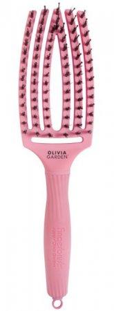 Olivia Garden Fingerbrush Bloom, szczotka z włosiem z dzika, średnia, lotos