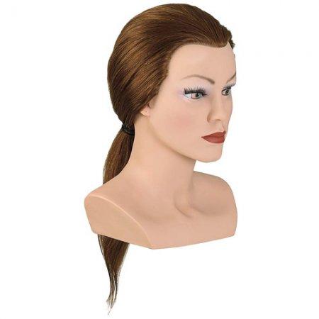 Bergmann główka treningowa Lady Medium, średni blond, 100% naturalne włosy, 40-45cm, ref. 091028