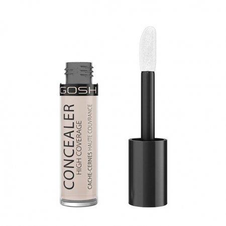 Gosh Concealer High Coverage, mocno kryjący korektor z aplikatorem, 5,5ml