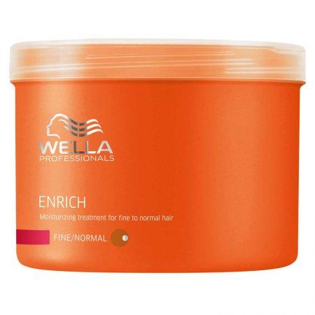 Wella Enrich maska nawilżająca do włosów cienkich i normalnych, 500ml