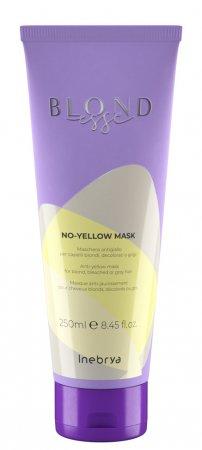 Inebrya Blondesse No Yellow, maska do włosów, 250ml