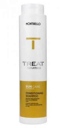 Montibello Treat Naturtech, szampon do włosów Sun Care, 300 ml