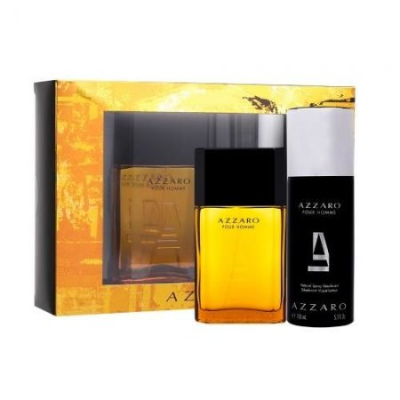 Azzaro Pour Homme, zestaw perfum EDT 100ml + 150ml dezodorant (M)