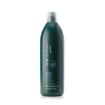 Inebrya Green Scalp Sensitive, szampon do wrażliwej skóry, 1000ml
