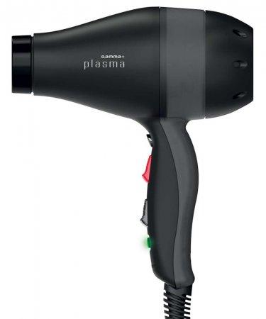 Gamma Piu, suszarka Plasma, 2200W, czarny-transparentny