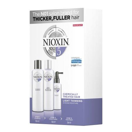 Nioxin 3D System 5, zestaw pielęgnacyjny, 150+150+50ml