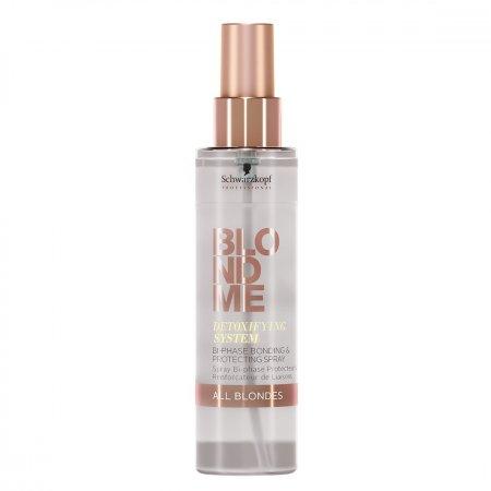 Schwarzkopf Blond Me Detox, detoksykujący spray ochronny, 150ml