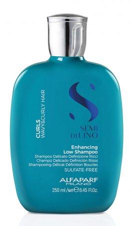 Alfaparf Semi di Lino Curls, szampon wzmacniający, 250ml