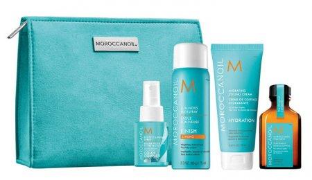 Moroccanoil, zestaw podróżny do stylizacji włosów + kosmetyczka