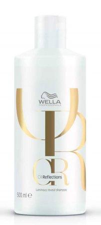 Wella Oil Reflections, szampon przywracający włosom blask, 500ml