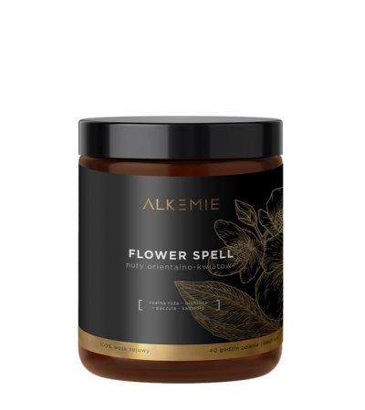 Alkemie, świeca sojowa, Flower Spell, 180ml