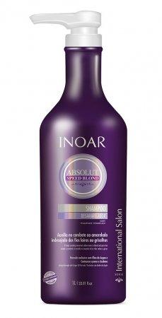 INOAR Speed Blond, szampon, 1000ml