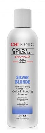 CHI Color Illuminate, szampon eliminujący żółte refleksy, Silver Blonde, 355ml