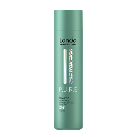 Londa Pure, szampon z masłem shea, wegański, 250ml
