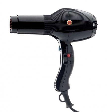 Gamma Piu, suszarka 5555 Turbo Turmalionic, czarna, 2400W