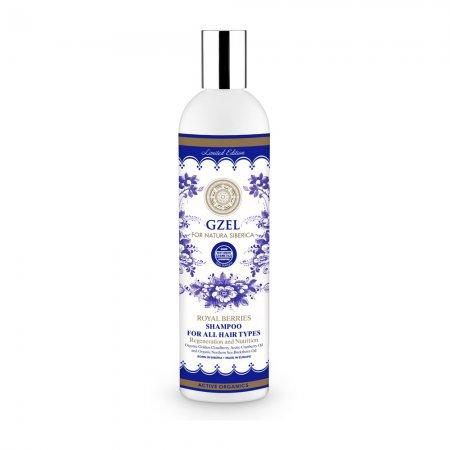 Natura Siberica Royal Berries, szampon do każdego rodzaju włosów, 400ml