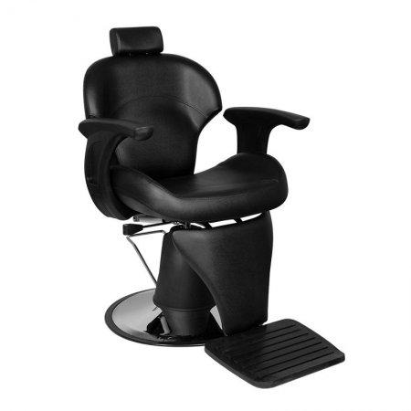 Fotel barberski Gabbiano Igor, czarny