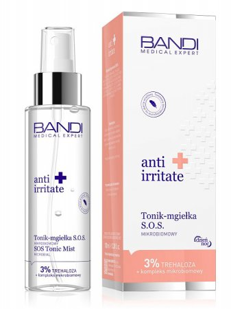 Bandi Anti Irritate, tonik-mgiełka mikrobiomowy, 100ml