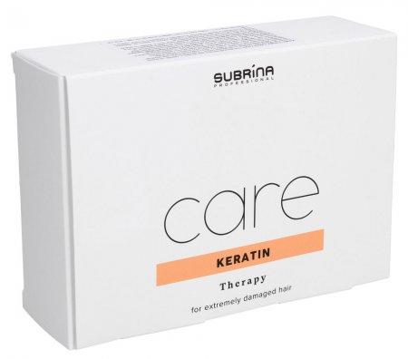 Subrina Keratin Care, ampułki do włosów silnie zniszczonych, 6x10ml