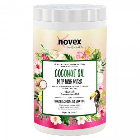Novex Coconut Oil, maska odżywcza, 1000g