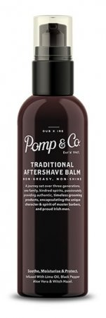 Pomp&Co., Traditional Aftershave Balm, balsam po goleniu, 100ml