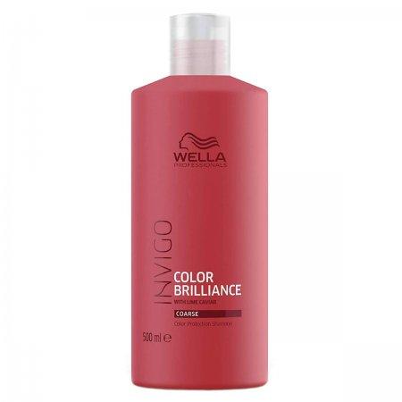 Wella Invigo Color Brilliance, szampon do włosów farbowanych, grubych, 500ml