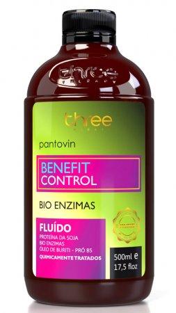 Three Therapy Benefit Control, fluid regenerujący do włosów, 500ml