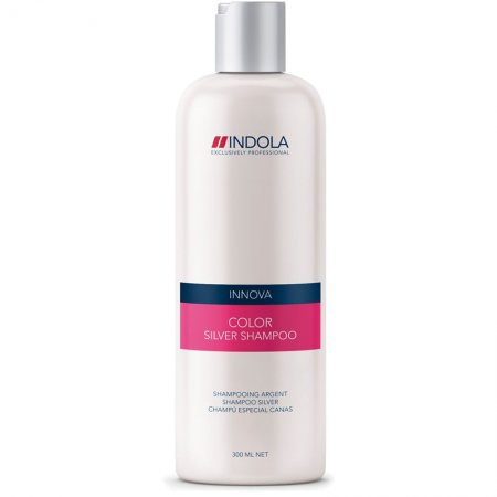 Indola Color Silver, szampon do włosów siwych i blond, 300ml