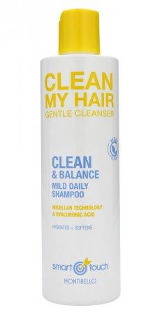 Montibello Smart Touch, szampon micelarny do włosów Clean My Hair, 300ml