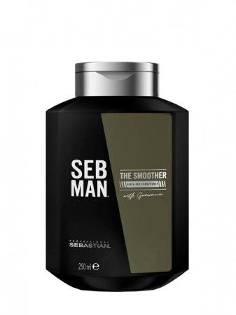 SEB MAN The Smoother, odżywka nawilżająca i ułatwiająca stylizację, 250ml