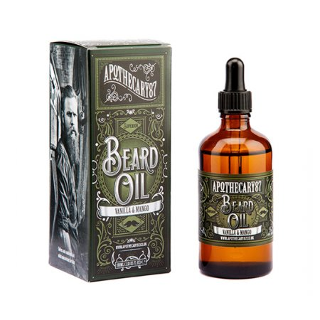 Apothecary87, Beard Oil, Mango & vanilla, olejek do brody, 100ml