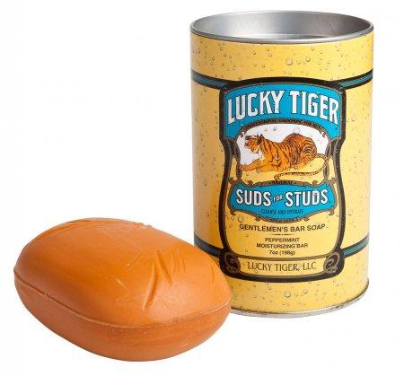 Lucky Tiger, nawilżające mydło do ciała, 198g