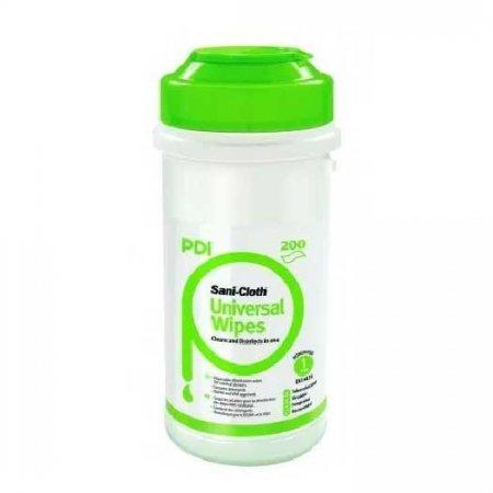 PDI Sani Cloth Universal, chusteczki do dezynfekcji małych powierzchni i sprzętu, 200szt.