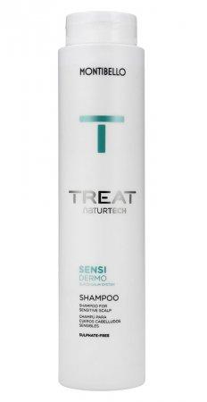 Montibello Treat Naturtech, szampon do wrażliwej skóry głowy Sensi Dermo, 300 ml
