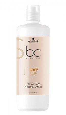 Schwarzkopf BC Time Restore Q10+, micelarny szampon do włosów dojrzałych, 1000ml