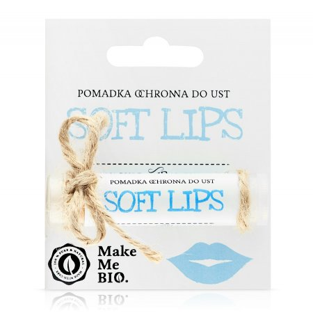 Make Me Bio Soft lips, Pomadka ochronna do ust, 5ml