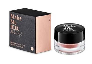 Make Me Bio, Make Up!, Naturalna pomadka i róż, 6ml