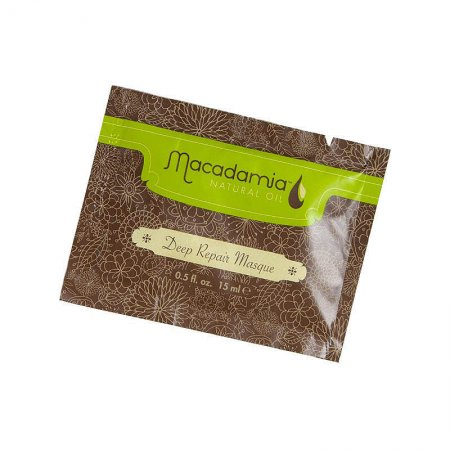Macadamia Classic, regeneracyjna maska do włosów z olejkami, saszetka, 15ml