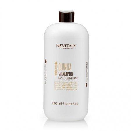 Nevitaly Quinoa, szampon do włosów zniszczonych, 1000ml