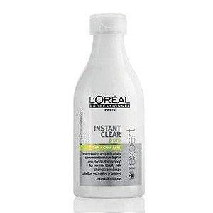 Loreal Instant Clear, szampon przeciwłupieżowy do włosów normalnych i przetłuszczających się, 250ml