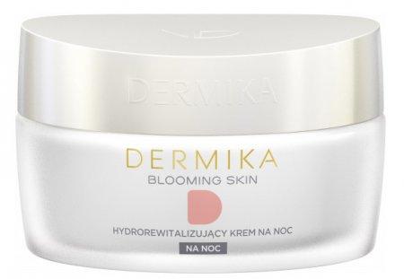 Dermika Blooming Skin, hydrorewitalizujący krem na noc, 50ml