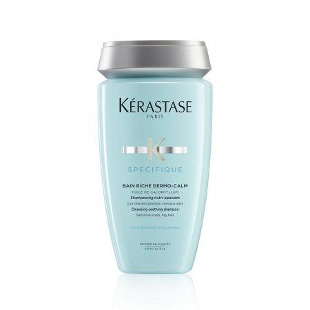 Kerastase Specifique, wzbogacona kąpiel, szampon kojący, wrażliwa skóra głowy, 250ml