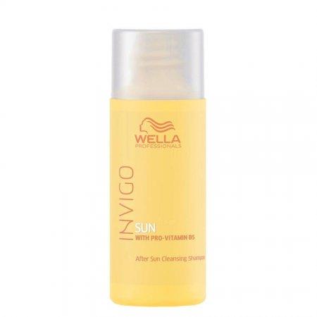 Wella Invigo Sun, oczyszczający szampon po ekspozycji na słońce, 50ml