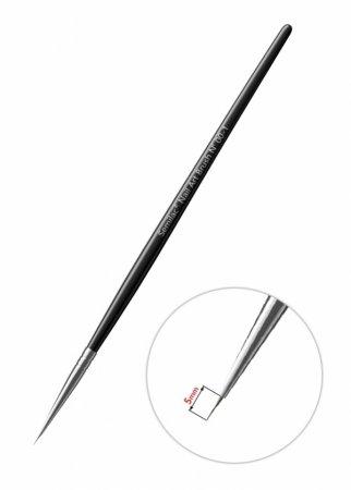 Semilac, nail art brush N 00-1, pędzelek do zdobień
