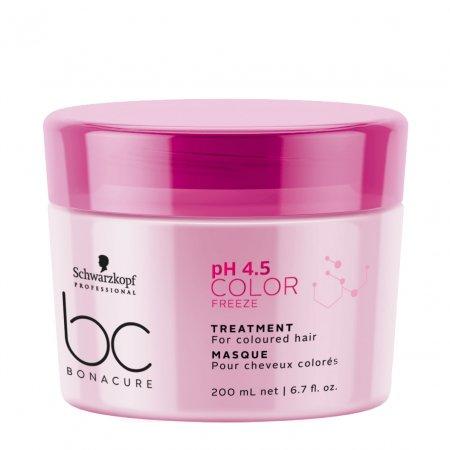 Schwarzkopf BC Color Freeze pH 4.5, maska do włosów farbowanych, 200ml