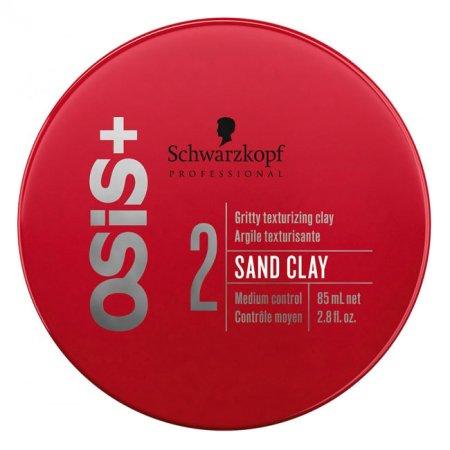 Schwarzkopf OSIS+ Sand Clay, ziarnisty klej nadający teksturę, 85ml